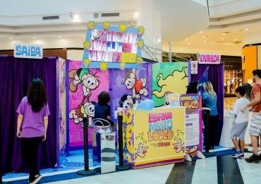 Labirinto da Turma da Mônica é diversão garantida em shopping de Brasília