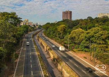 Prefeitura interdita parte da Marginal Botafogo em Goiânia