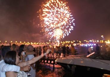 7 locais para comemorar o réveillon no Pontão do Lago Sul