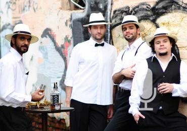 Heróis de Botequim faz show regado a feijoada e caipirinha no Circo Laheto
