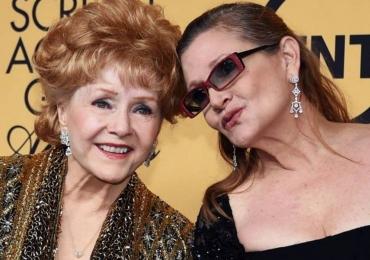 Atriz Debbie Reynolds morre um dia após sua filha Carrie Fisher