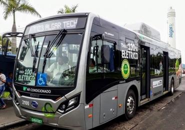 Uberlândia será a primeira cidade do país a ter ônibus elétricos circulando permanentemente
