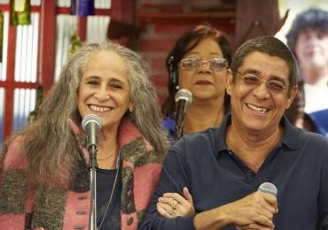 Zeca Pagodinho e Maria Bethânia fazem show em Brasília