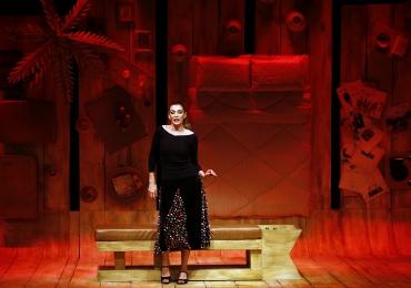 Mônica Martelli apresenta peça Minha Vida em Marte ao vivo em Goiânia