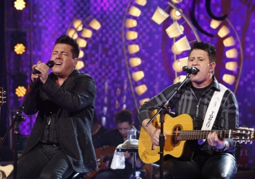 Dupla Bruno & Marrone faz show em Brasília