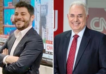 CNN estreia no Brasil e anuncia a contratação dos âncoras Evaristo Costa e William Waack