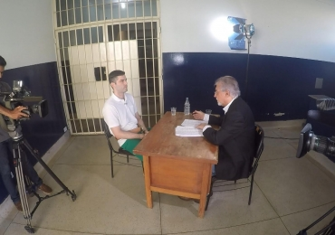 Serial killer de Goiânia fala primeira vez sobre seus crimes em entrevista exclusiva à TV Record