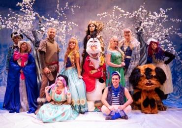 Aventuras do Reino Congelado chega em Goiânia com personagens de Frozen e A Origem dos Guardiões