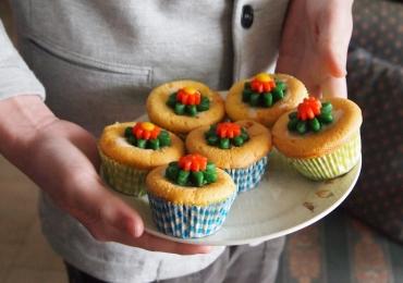 Shopping oferece para crianças oficina gratuita de personalização de cupcakes e cookies em Goiânia