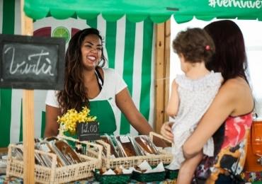 Mercadinho do Brasília reúne feira orgânica, oficinas, música e atividades para crianças