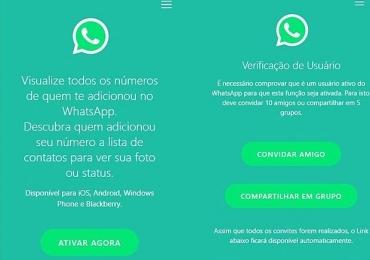 Novo golpe no WhatsApp promete mostrar quem te adicionou e já afetou mais de 260 mil usuários no Brasil