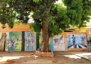 Centro histórico de Goiânia ganha nova galeria de arte a céu aberto com entrada gratuita