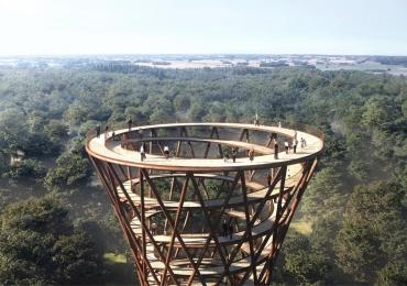 Passarela gigante (e impressionante) permitirá apreciar floresta do alto