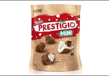 Nestlé lança novo formato de bombons Prestígio