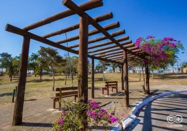 Descobrimos um parque charmoso escondido na região norte de Goiânia