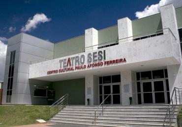 Veja as atrações que chegam ao Teatro Sesi no mês de maio