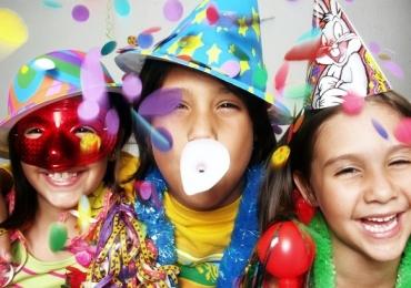 Bloquinhos de carnaval para crianças em Goiânia