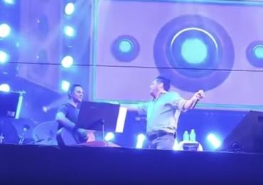 Bruno, da dupla com Marrone, pede desculpas após fazer show embriagado