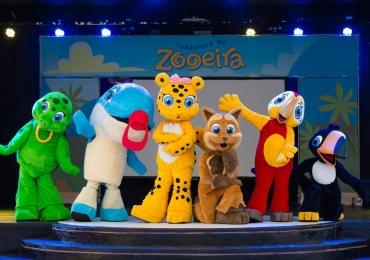 Turminha da Zooeira é nova opção de diversão infantil no Rio Quente Resorts e Costa do Sauípe