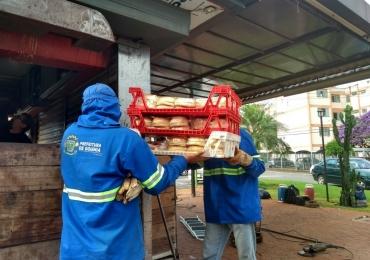 Vídeo: tradicional Pit Dog do Setor Marista é removido pela Prefeitura de Goiânia