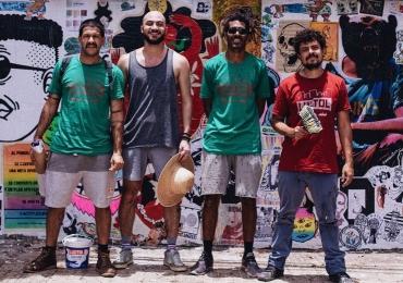 Acontece em Goiânia das ruas para a Galeria a mostra de arte 'COLA' com Jazz