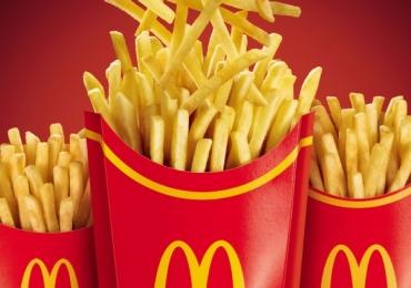McDonald's oferece refil de batata frita