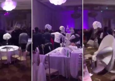 Festa de casamento vira pancadaria após 'vingança pornô'; veja o vídeo