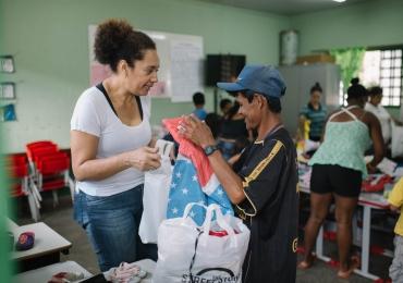 Shopping de Brasília promove coleta de doações para projeto social