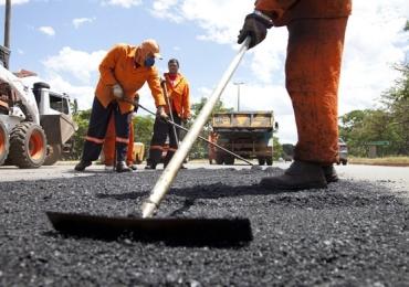 Operação tapa-buracos percorre hoje 18 bairros em Goiânia