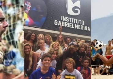 Hot Park faz mês do esporte com maratonas, jogadores do Corinthians, Instituto Gabriel Medina e tricampeã mundial de Futevôlei