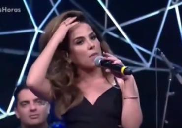 Vídeo: Wanessa Camargo surpreende Laura Muller com história indiscreta no Altas Horas