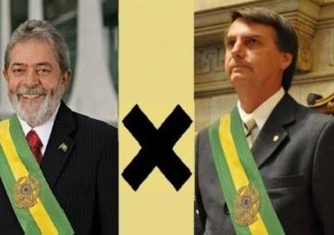 Ibope mostra Lula e Bolsonaro no 2º turno para 2018 e internautas ironizam pesquisa