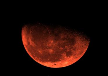 Queimadas deixam a lua vermelha na região amazônica; fenômeno também acontece em Goiás
