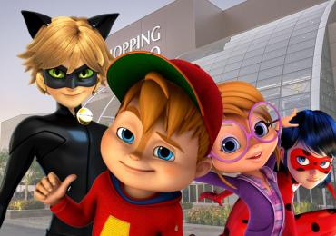 Só para crianças: Ladybug e Alvinnn com entrada gratuita em Goiânia