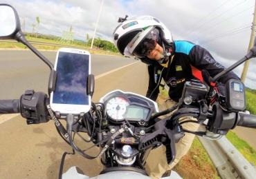 Goiano e sua moto conhecem a América do Sul em 95 dias