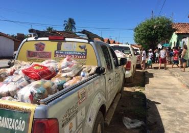 Goiânia recebe 'Rally da Solidariedade' que leva milhares de doações de Goiás a Minas