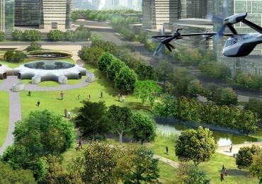 Hyundai apresenta seu primeiro carro voador em parceria com a Uber