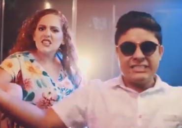 Casal de goianos faz versão evangélica de 'Despacito' e vira hit na internet