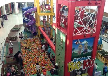 Shopping de Brasília recebe brinquedos para a criançada