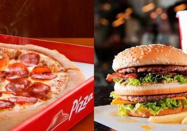 McDonald's, Burger King, Bob's, Pizza Hut, Domino's Pizza entram na briga pelo menor preço na Black Friday 2019