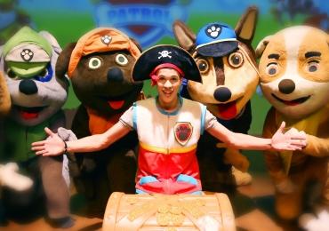 Brasília recebe o espetáculo infantil Patrulha Canina