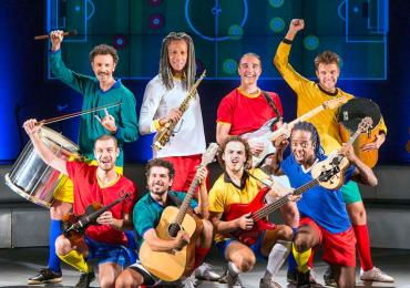 Goiânia recebe musical Samba Futebol Clube pela primeira vez