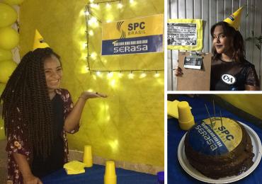 Jovem faz festa de aniversário com o tema 'SPC e Serasa' em Goiânia