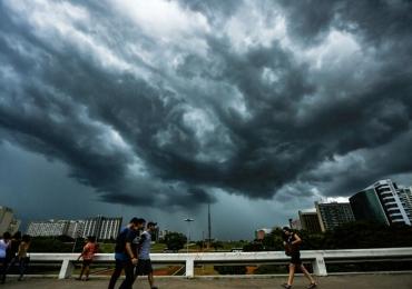 Chuva será frequente em todo o Distrito Federal durante a semana