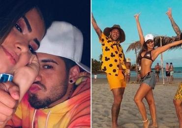 Entenda a treta que está rolando entre Neymar, Gabriel Medina e Zé Felipe