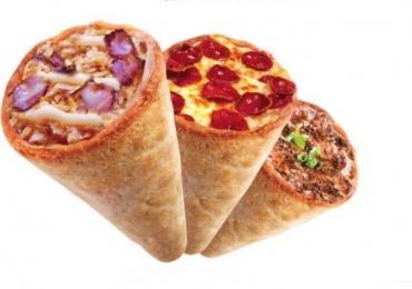 Pizza no cone é a novidade de food truck em Brasília
