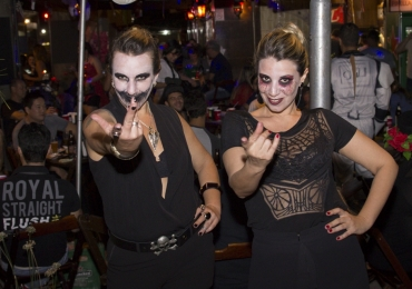 Bar em Brasília promove festa de Halloween