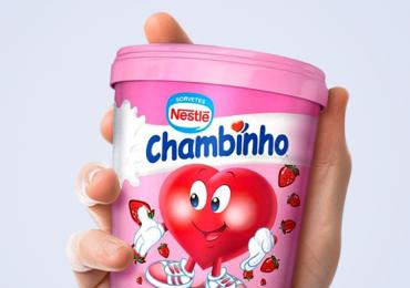 Verão nostalgia: iogurte Chambinho ganha nova versão de meio litro de sorvete