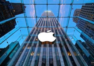 Apple é a primeira empresa do mundo a valer 1 trilhão de dólares