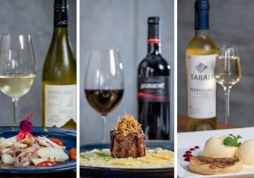 Restaurante contemporâneo de Brasília realiza jantar em cinco etapas com harmonização de vinhos argentinos, chilenos e espanhóis